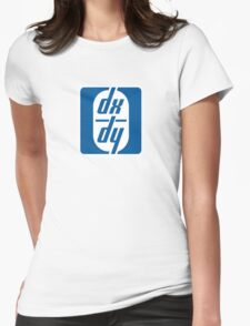 dx / dy Womens Fitted T-Shirt