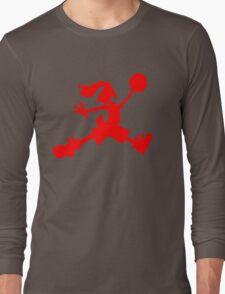 Hare Jordan [Red Logo] Long Sleeve T-Shirt