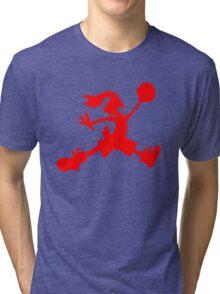 Hare Jordan [Red Logo] Tri-blend T-Shirt