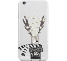 Christmas Bright Reindeer  iPhone Case/Skin