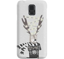 Christmas Bright Reindeer  Samsung Galaxy Case/Skin