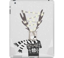 Christmas Bright Reindeer  iPad Case/Skin