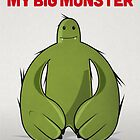 Big Green Monster  Happy Birthday My Big Monster by David Wildish