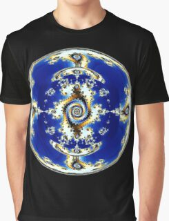 Blue Crystal Ball  Graphic T-Shirt