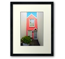 The Tiniest Cottage Framed Print