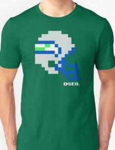 Tecmo Bowl - Seattle Seahawks - 8-bit - Mini Helmet shirt Unisex T-Shirt