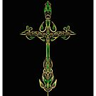 Celtic Dagger by Elaine  Manley