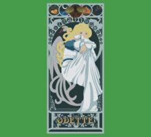 Odette Nouveau - Swan Princess One Piece - Short Sleeve