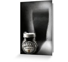 Guinness Marmite Greeting Card