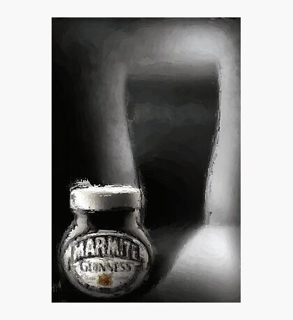 Guinness Marmite Photographic Print