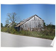 DILAPIDATED BARN Poster