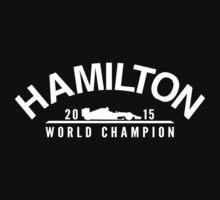 Lewis Hamilton 2015 Formula 1 World Champion Kids Clothes