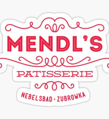 Mendl's Patisserie Sticker