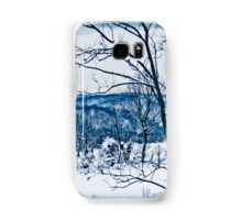 Winter Wonderland in Blue Samsung Galaxy Case/Skin