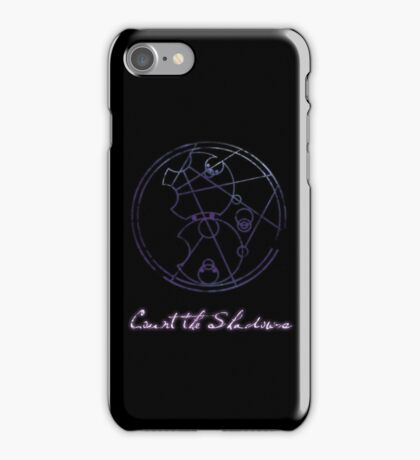 Count the Shadows iPhone Case/Skin