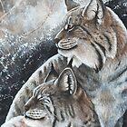 Lynx Pair  by morrokko