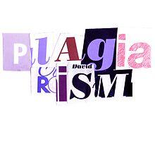 Plagiarism. by nawroski .