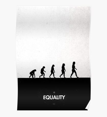 99 Steps of Progress - Equality Poster