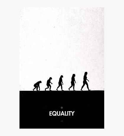 99 Steps of Progress - Equality Photographic Print