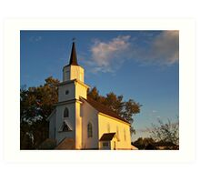 Beaver Creek Church Art Print