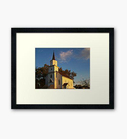 Beaver Creek Church Framed Print