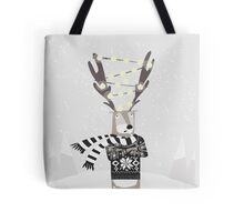 Christmas Bright Reindeer  Tote Bag