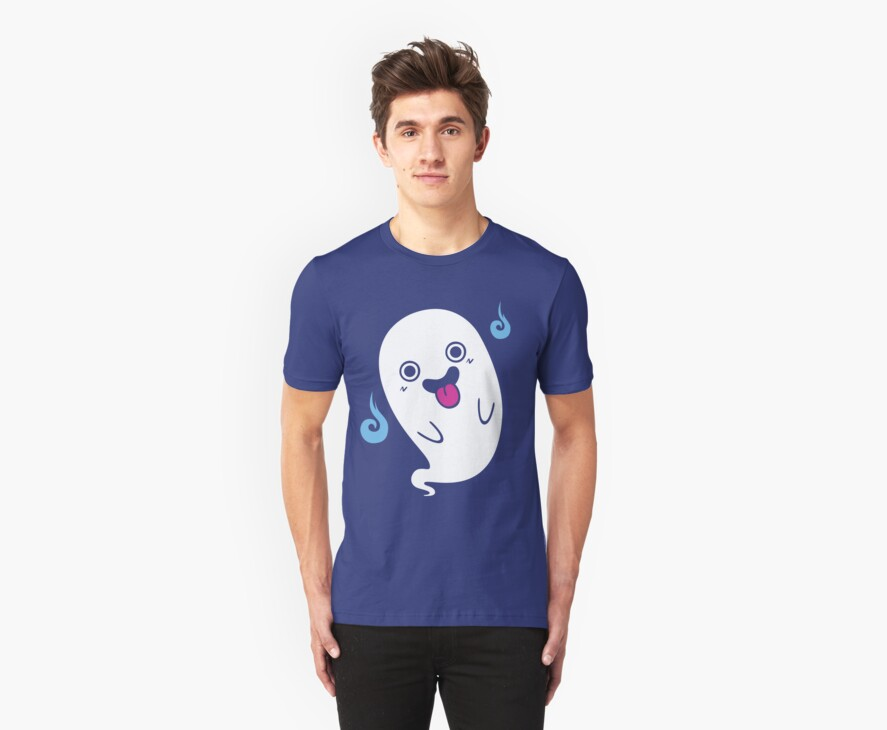 Haunted T-shirt by japu
