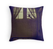 What Isn't There Is Also Scary Throw Pillow