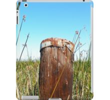 The Lonely Old Post in the Wetlands iPad Case/Skin