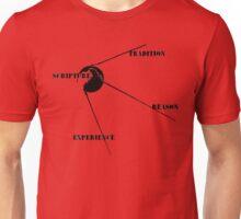 Wesleyan Quadrilateral- Sputnik Version Unisex T-Shirt