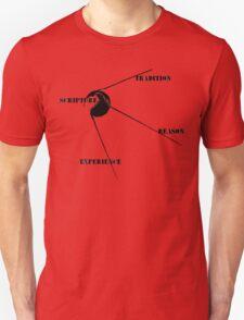 Wesleyan Quadrilateral- Sputnik Version T-Shirt