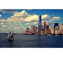 New York River Cruise Photographic Print