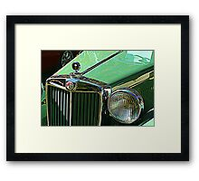 MG Framed Print