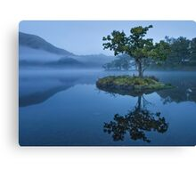 rydal water at dawn Canvas Print