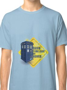Doctor Who Tardis - Baby Timelord on Board Classic T-Shirt
