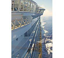 At Sea  Photographic Print