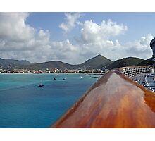 Welcome to St Maarten  Photographic Print