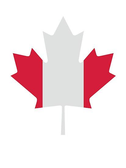 Canada maple leaf flag by Designzz