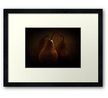 Sweat pears Framed Print