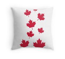 Canada maple leafs Throw Pillow