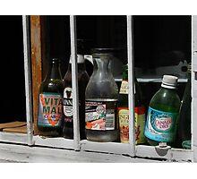 Bottles Photographic Print