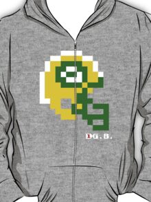 Tecmo Bowl - Green Bay Packers - 8-bit - Mini Helmet shirt T-Shirt