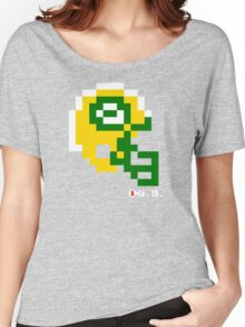 Tecmo Bowl - Green Bay Packers - 8-bit - Mini Helmet shirt Women's Relaxed Fit T-Shirt