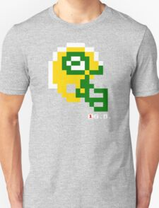 Tecmo Bowl - Green Bay - 8-bit - Mini Helmet shirt Unisex T-Shirt