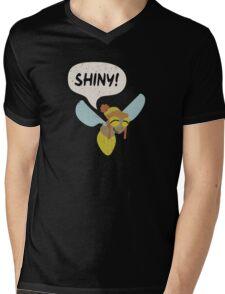 Shiny! Mens V-Neck T-Shirt