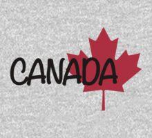 Canada maple leaf One Piece - Long Sleeve