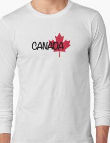Canada maple leaf Long Sleeve T-Shirt
