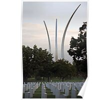 Air Force Memorial Poster