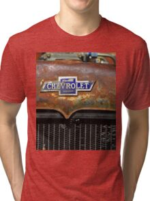 Chevrolet Badge Graphic Shirt Tri-blend T-Shirt