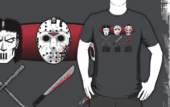 Hockey Mask Evolution by mikehandyart